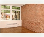 Exposed brick 1 bedroom on the upper East Side.