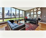 $3000 - No Fee! Beautiful waterfront Long Island City 1BR/1BA with balcony in Luxury Full Service building with panoramic river/city views and 5 star amenities - lap pool, sauna, gym, spa, screening room, spinning studio, 24/7 concierge, parking &amp; more!