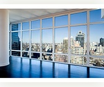 STUNNING GLASS TOWER MIDTOWN- 3 BED. JUST 2 APARTMENTS P/FLOOR - FLOOR:CEILING WINDOWS!