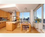 High End, 1200 SF, Corner 2 Bedroom Unit With Amazing Manhattan Views _____ Concierge Building Just Steps From Chelsea High Line &amp; Chelsea Piers