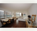NO FEE! Tremendous Corner Two Bedroom Apartment w/ Private Terrace in Prime Battery Park City