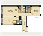Spacious Upper West Side Two Bedroom * Euro-Style Gourmet Kitchen * Brand New Oak Parquet flooring