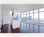 Panoramic Hudson River Views From This Brand New, Upscale 2 Bed!! ** 1250 SF ** _____ Doorman, Gym, Basketball Courty, Pool and More!!